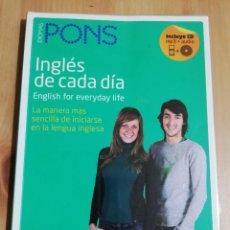 Libros de segunda mano: INGLÉS DE CADA DÍA. ENGLISH FOR EVERYDAY LIFE (INCLUYE CD). Lote 223530337