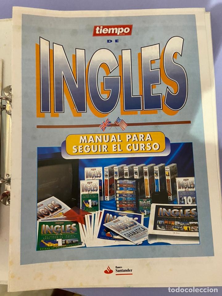Libros de segunda mano: Curso de inglés de la revista el tiempo. Carpeta y 10 casetes sin abrir. - Foto 4 - 224318952