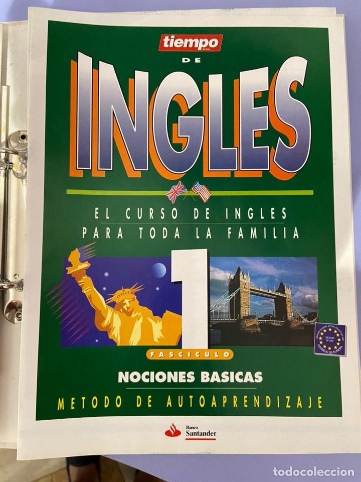Libros de segunda mano: Curso de inglés de la revista el tiempo. Carpeta y 10 casetes sin abrir. - Foto 5 - 224318952