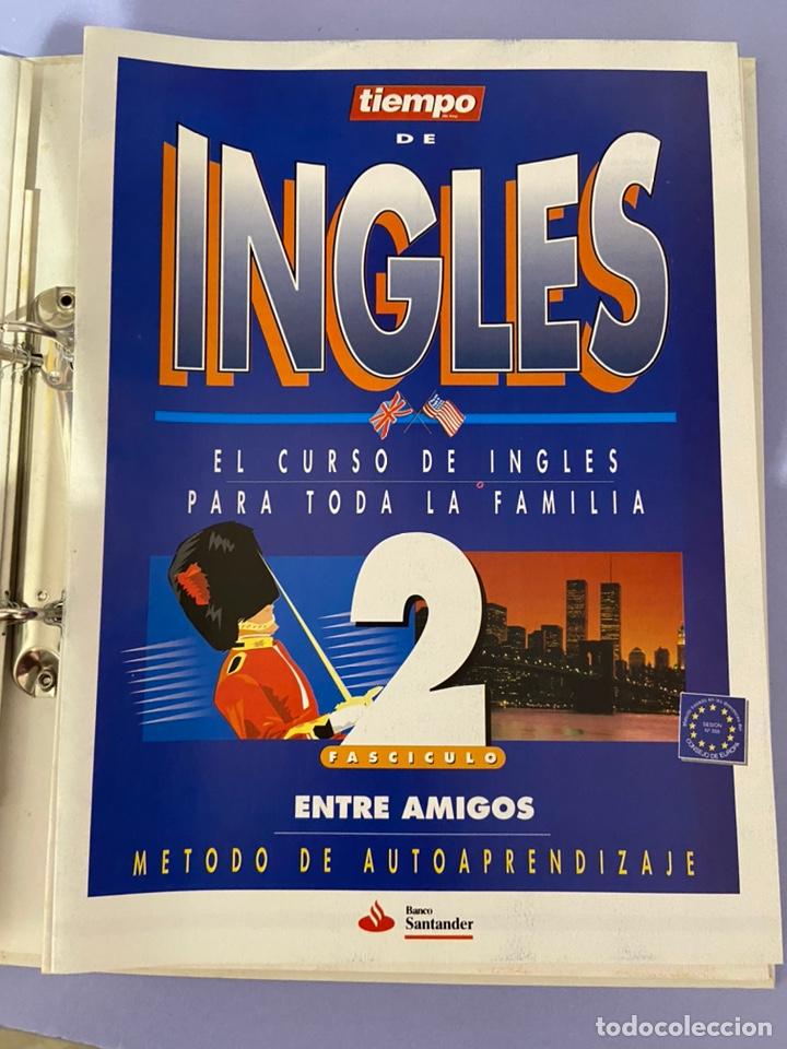 Libros de segunda mano: Curso de inglés de la revista el tiempo. Carpeta y 10 casetes sin abrir. - Foto 6 - 224318952
