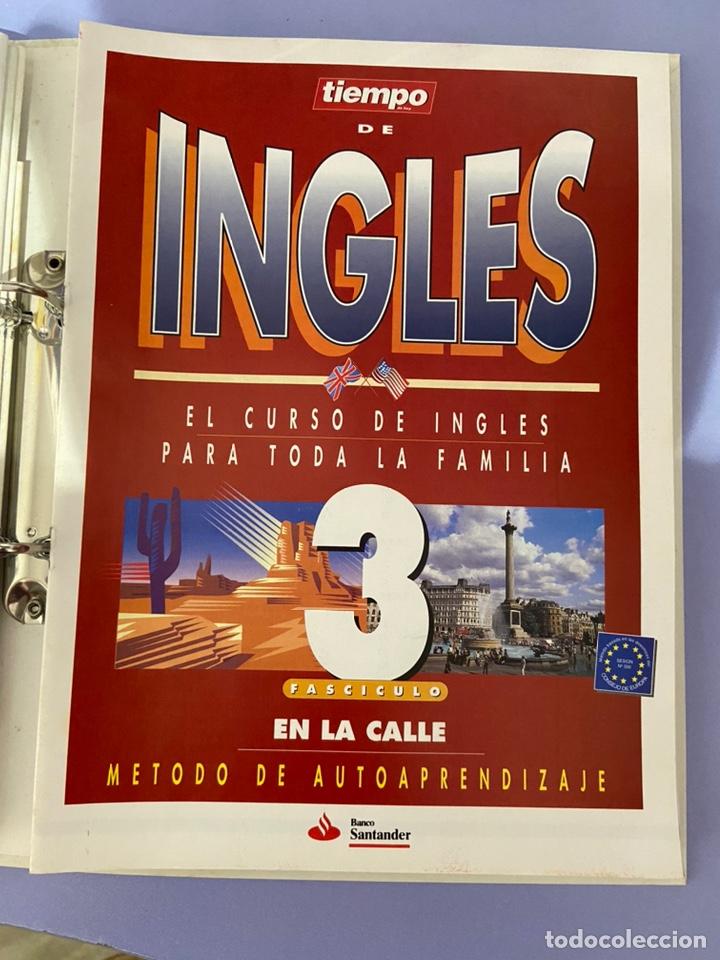 Libros de segunda mano: Curso de inglés de la revista el tiempo. Carpeta y 10 casetes sin abrir. - Foto 7 - 224318952