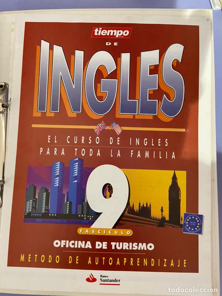 Libros de segunda mano: Curso de inglés de la revista el tiempo. Carpeta y 10 casetes sin abrir. - Foto 14 - 224318952