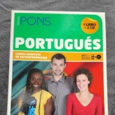 Libros de segunda mano: CURSO COMPLETO DE AUTOAPRENDIZAJE: PORTUGUÉS - SIMONE SABINO Y REGINA LINO. Lote 226153351