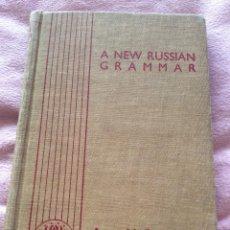 Libros de segunda mano: A NEW RUSSIAN GRAMMAR IN TWO PARTS, ANNA H. SEMEONOFF, 1945. Lote 226351395