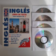 Libros de segunda mano: LIBRO. CURSO INTENSIVO DE INGLES + 4 CD'S. Lote 226503080