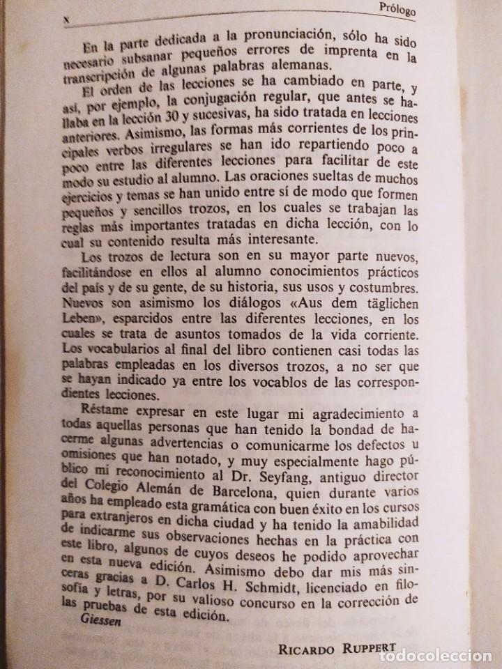 Libros de segunda mano: Gramatica sucinta de la lengua alemana - Método Gaspey Otto Sauer - E.Otto - E.Ruppert - Foto 5 - 227062647