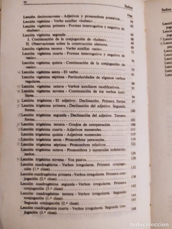 Libros de segunda mano: Gramatica sucinta de la lengua alemana - Método Gaspey Otto Sauer - E.Otto - E.Ruppert - Foto 7 - 227062647