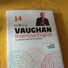 Libros de segunda mano: VAUGHAN INTENSIVE ENGLISH. PERIODICO EL MUNDO. EL CURSO INGLÉS MULTIPLATAFORMA. NUMERO 14. Lote 228720215