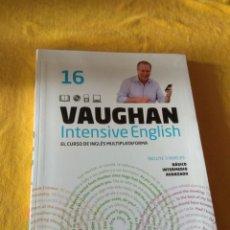 Libros de segunda mano: VAUGHAN INTENSIVE ENGLISH. PERIODICO EL MUNDO. EL CURSO INGLÉS MULTIPLATAFORMA. NUMERO 16. Lote 228721110