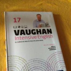 Libros de segunda mano: VAUGHAN INTENSIVE ENGLISH. PERIODICO EL MUNDO. EL CURSO INGLÉS MULTIPLATAFORMA. NUMERO 17. Lote 228721480