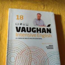 Libros de segunda mano: VAUGHAN INTENSIVE ENGLISH. PERIODICO EL MUNDO. EL CURSO INGLÉS MULTIPLATAFORMA. NUMERO 18. Lote 228721785