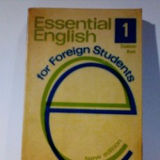 Libros de segunda mano: ESSENTIAL ENGLISH 1-2. Lote 229222745