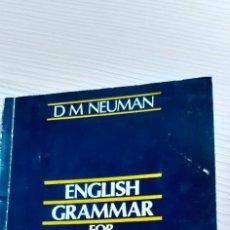 Livros em segunda mão: ENGLISH GRAMMAR FOR PROFICIENCY. Lote 229732730