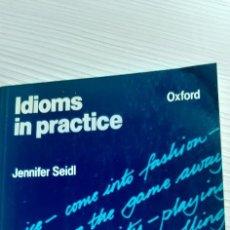 Libros de segunda mano: IDIOMAS IN PRACTICE. Lote 229733450