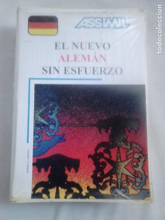 EL NUEVO ALEMÁN SIN ESFUERZO (LIBRO + CASSETS + ESTUCHE) - ASSIMIL, 1988 / CURSOS DE IDIOMAS (Libros de Segunda Mano - Cursos de Idiomas)