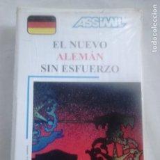 Libros de segunda mano: EL NUEVO ALEMÁN SIN ESFUERZO (LIBRO + CASSETS + ESTUCHE) - ASSIMIL, 1988 / CURSOS DE IDIOMAS. Lote 232397615