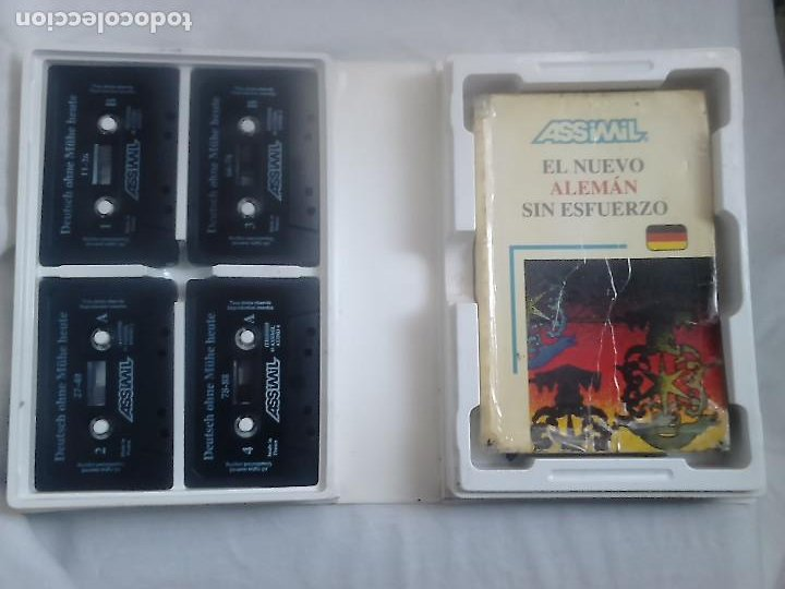 Libros de segunda mano: El nuevo alemán sin esfuerzo (libro + cassets + estuche) - Assimil, 1988 / CURSOS DE IDIOMAS - Foto 2 - 232397615