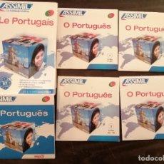 Libros de segunda mano: LE PORTUGAIS. ASSIMIL. 2012 1 LIBRO, 4 CD, 1CD MP3.. Lote 234283780