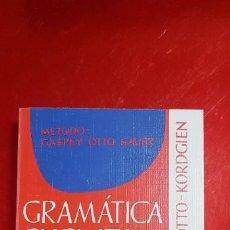Libri di seconda mano: GRAMÁTICA SUCINTA DE LA LENGUA FRANCESA-EMIL OTTO.GROOS HERDER-1993-IMPOLUTO-VER FOTOS. Lote 234986815