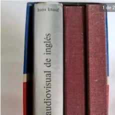 Libros de segunda mano: ANTIGUO CURSO DE INGLÉS EV CON LIBRO Y VINILOS. Lote 236069995