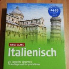 Libros de segunda mano: ITALIENISCH. FIRST CLASS. DER KLOMPETTE SPRACHKURS FÜR ANFANGER UND FORTGESCHRITTENE (5 CD'S). Lote 237207820