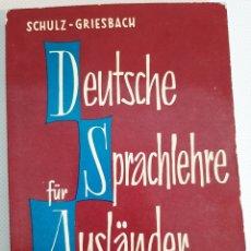 Libros de segunda mano: DEUTSCHE SPRACHLEHRE FÜR AUSLÄNDER. Lote 237396920