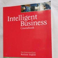 Libros de segunda mano: INTELLIGENT BUSINESS COURSEBOOK. Lote 237579475