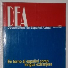 Libros de segunda mano: EN TORNO AL ESPAÑOL COMO LENGUA EXTRANJERA / ALBERTO CARCEDO / UNIVERSIDAD DE TURKU, FINLANDIA 1999. Lote 241388240