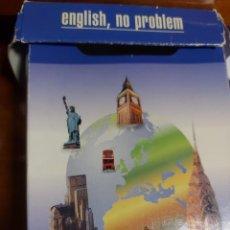 Libros de segunda mano: ENGLISH, NO PROBLEM. 100 TARJETAS. Lote 242906915