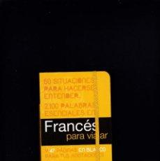 Libros de segunda mano: FRANCÉS PARA VIAJAR - ANAYA EDITORIAL 2011. Lote 245100420