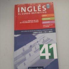 Libros de segunda mano: INGLES EL CURSO DEFINITIVO. Lote 249258080