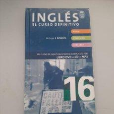 Libros de segunda mano: INGLES EL CURSO DEFINITIVO. Lote 249258385