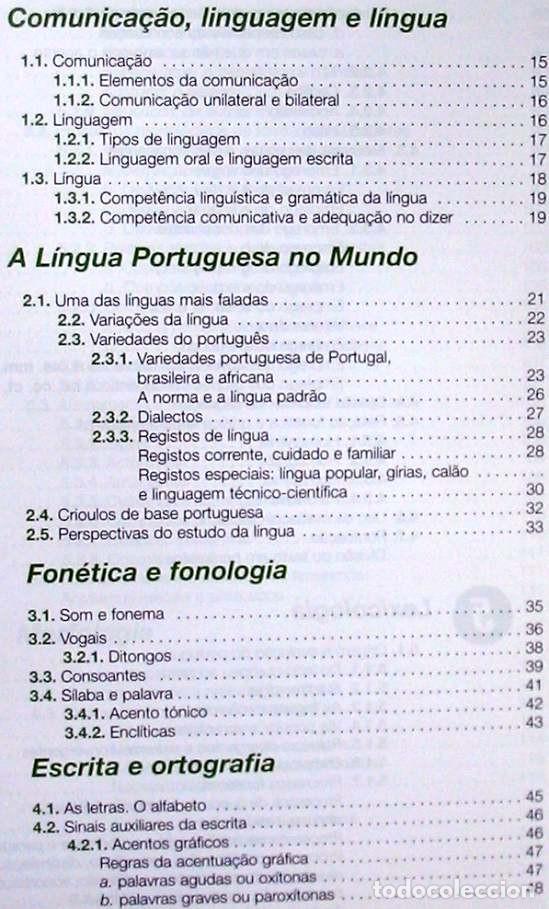 Libros de segunda mano: GRAMÁTICA DE PORTUGUÉS MODERNO - JOSÉ MANUEL DE CASTRO PINTO 2011 - VER INDICE - Foto 2 - 252596605