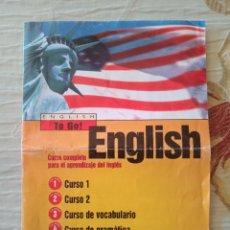 Libros de segunda mano: CURSO COMPLETO DE INGLÉS. ENGLISH TO GO. Lote 253110645