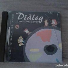 Libros de segunda mano: CD CURS DE CATALÀ BÁSIC. DISC 1. DIÀLEG MULTIMÈDIA.. Lote 254843165