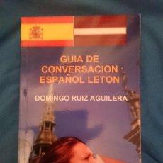 Libros de segunda mano: GUIA DE CONVERSACION ESPAÑOL LETON -----LIBRO ESPECIAL PARA VIAJEROS. Lote 256079275