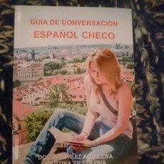 Libros de segunda mano: GUIA DE CONVERSACION ESPAÑOL CHECO -----LIBRO ESPECIAL PARA VIAJEROS. Lote 256079485