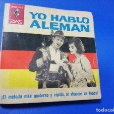 Libros de segunda mano: YO HABLO ALEMAN. JULIEN TONDRIAU. 1ª EDICION. 1964. PAGS. 159.. Lote 256108995