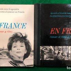 Libros de segunda mano: EN FRANCE COMME SI VOUS Y ETIEZ / APRENDA EL FRANCES COMO LO APRENDEN LOS FRANCESES...MUNDI-. Lote 257397555