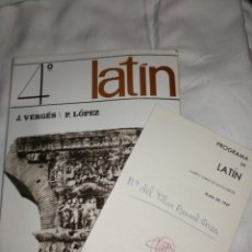 Libros de segunda mano: MÉTODO LATIN, TEIDE, 4°BACHILLERATO. AÑO 1970. Lote 257746090