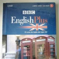 Libros de segunda mano: BBC ENGLISH PLUS LIBRO Y DVD 1 (PRECINTADO). Lote 257758480