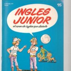 Libros de segunda mano: INGLÉS JUNIOR. FASCÍCULO Nº 95. SALVAT BBC. (ST/P). Lote 263673270