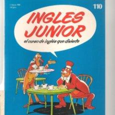 Libros de segunda mano: INGLÉS JUNIOR. FASCÍCULO Nº 110. SALVAT BBC. (ST/P). Lote 263673735