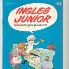 Libros de segunda mano: INGLÉS JUNIOR. FASCÍCULO Nº 112. SALVAT BBC. (ST/P). Lote 263674175