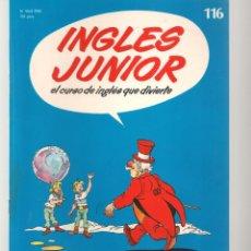 Libros de segunda mano: INGLÉS JUNIOR. FASCÍCULO Nº 116. SALVAT BBC. (ST/P). Lote 263674790