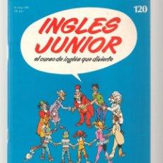Libros de segunda mano: INGLÉS JUNIOR. FASCÍCULO Nº 120. SALVAT BBC. (ST/P). Lote 263675280