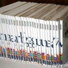 Libros de segunda mano: LOTE CURSO INTENSIVO DE IDIOMA INGLÉS 27T / MÉTODO VAUGHAN / ED. EL MUNDO EN MADRID 2011. Lote 264134260