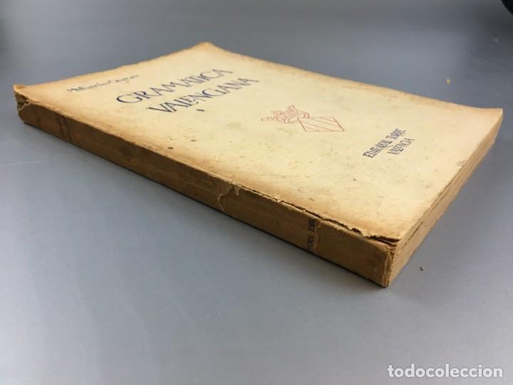 Libros de segunda mano: GRAMATICA VALENCIANA - SANCHIS GUARNER - 1950 - Foto 2 - 266645563