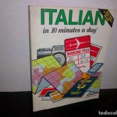 Libros de segunda mano: 24- ITALIANO EN 10 MINUTOS. Lote 268473114
