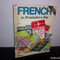 Libros de segunda mano: 24- FRANCÉS EN 10 MINUTOS. Lote 268473229